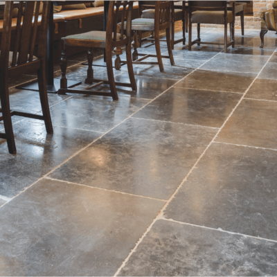 Which finish should I chose for  my stone floor?